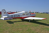 D-ECUN @ EBDT - A rare aircraft in sunshine. - by sparrow9