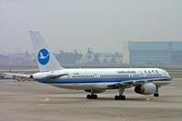 B-2862 @ ZUUU - Boeing 757-25 [34008] (Xiamen Airlines) Chengdu-Shuangliu~B 21/10/2006 - by Ray Barber