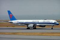 B-2818 @ VHHH - Boeing 757-21B [25259] (China Southern Airlines) Hong Kong Int'l~B 31/10/2005 - by Ray Barber