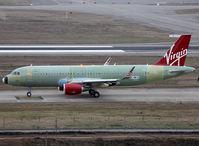 F-WWIH @ LFBO - C/n 6939 - For Virgin America - by Shunn311