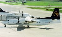 D-AFKU @ LSZH - Lufthansa CityLine - by kenvidkid