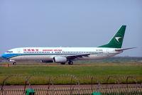 B-5105 @ ZGSZ - Boeing 737-97L [33646] (Shenzhen Airlines) Shenzhen-Baoan~B 23/10/2006 - by Ray Barber