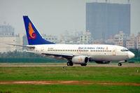 B-5062 @ ZGSZ - Boeing 737-76N [28585] (Shan Xi Airlines) Shenzhen-Baoan~B 22/10/2006 - by Ray Barber