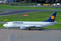 D-ABXU @ EGBB - Boeing 737-330 [24282] (Lufthansa) Birmingham Int'l~G 18/04/2006 - by Ray Barber