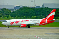 9M-AAY @ VTBD - Boeing 737-3Y0 [24678] (AirAsia) Bangkok~HS 12/11/2005 - by Ray Barber