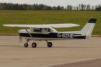 G-BZHE @ EGSH - Arriving from Andrewsfield. - by keithnewsome