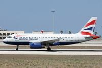 G-DBCH @ LMML - A319 G-DBCH British Airways - by Raymond Zammit