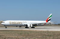 A6-EMR @ LMML - B777 A6-EMR Emirates Airlines - by Raymond Zammit