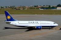 PP-VPF @ SBGR - Boeing 737-3S1 [24834] (VARIG) Sao Paulo-Guarulhos~PP 12/04/2003 - by Ray Barber