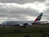 A6-EDI @ EGCC - A6-EDI arriving at MAN. - by Roverscal