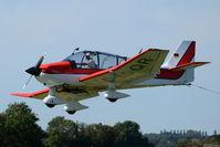 D-EDQR @ X3TB - Landing at Tibenham. - by Graham Reeve