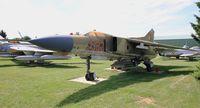 582 @ LFLQ - Mikoyan-Gurevich MiG-23MF, Musée Européen de l'Aviation de Chasse, Montélimar-Ancône airfield (LFLQ) - by Yves-Q