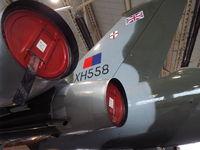 G-VLCN @ EGCN - XH558 in hanger 3 at DSA - by Callum Devine