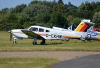D-EKHW @ EGLM - Piper Turbo Arrow IV at White Waltham. - by moxy