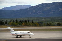 C-FMIX @ CYXY - On the ramp at Whitehorse, Yukon. - by Murray Lundberg