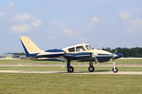 N6817T @ KOSH - Cessna 310D - by Mark Pasqualino