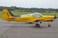 G-BNSP @ EGFH - Firefly, Turweston Flying Club Ltd Turweston Aerodrome Buckinhamshire based, seen parked up. - by Derek Flewin