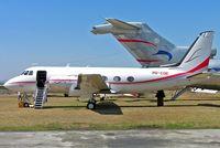 9Q-COE @ FALA - Grumman G-159 Gulfstream I [156] (ITAB) Lanseria~ZS 20/09/2006 - by Ray Barber