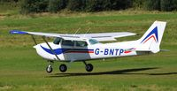 G-BNTP @ EGCB - At City Airport Manchester - by Guitarist