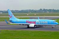 D-AHFW @ EDDL - Boeing 737-8K5 [30882] (Hapagfly) Dusseldorf~D 27/05/2006 - by Ray Barber