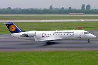 D-ACHI @ EDDL - Canadair CRJ-200LR [7464] (Lufthansa Regional) Dusseldorf~D 27/05/2006 - by Ray Barber