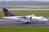 D-BMMM @ EDDL - Aerospatiale ATR-42-512 [546] (Lufthansa Regional) Dusseldorf~D 27/05/2006 - by Ray Barber