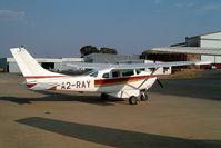 A2-RAY @ FALA - Cessna 206 Super Skywagon [206-0043] Lanseria~ZS 05/10/2003 - by Ray Barber