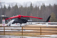 C-FSLB - Parked at Canadian Helicopters base in Smithers proper (not at airport). - by Remi Farvacque