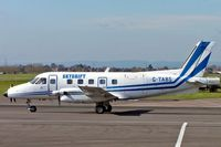 G-TABS @ EGBJ - Embraer Emb-110P1 Bandeirante [110212] (Skydrift) Staverton~G 18/03/2005 - by Ray Barber