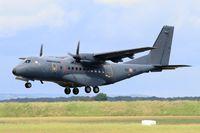 195 @ LFOA - CASA CN-235-300M, Landing rwy 24, Avord Air Base 702 (LFOA) Open day 2016 - by Yves-Q