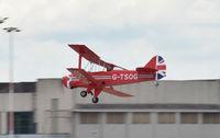 G-TSOG @ EGCN - G-TSOG landing at DSA after it's first flight