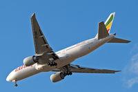ET-ANN @ EGLL - Boeing 777-260LR [40770] (Ethiopian Airlines) Home~G 31/03/2015. On approach 27R.