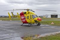 VH-SLA @ YSWG - Westpac Life Saver Helicopter (VH-SLA) Kawasaki BK117 B-2 at Wagga Wagga Airport - by YSWG-photography