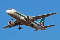 EI-EIB @ EGLL - Airbus A320-216 [4249] (Alitalia) Home~G 31/03/2015. On approach 27R.