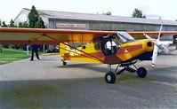 OE-AIN @ LOXN - Piper PA-18-150 Super Cub [18-7803] Wiener Neustadt-Ost~OE 15/05/1999