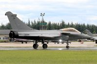 142 @ LFOA - Dassault Rafale C, Taxiing to parking area, Avord Air Base 702 (LFOA) Open day 2016 - by Yves-Q