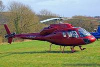 G-OHCP @ EGBC - Aerospatiale AS.355F1 Ecureuil II [5249] Cheltenham Racecourse~G 18/03/2011
