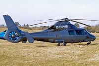 G-DPHN @ EGBC - Aerospatiale SA.365N1 Dauphin 2 [6307] (Atlantic Air Ltd) Cheltenham Racecourse~G 16/03/2010