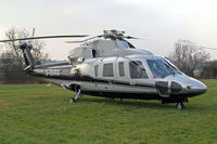 G-BURS @ EGBC - Sikorsky S-76A+ [760040] (Premiair Aviation Services) Cheltenham Racecourse~G 15/03/2011