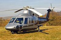 G-BURS @ EGBC - Sikorsky S-76A+ [760040] (Premiair Aviation Services) Cheltenham Racecourse~G 16/03/2010