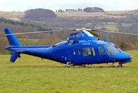 G-HDTV @ EGBC - Agusta A-109A-2 [7266] (Castle Air) Cheltenham Racecourse~G 13/03/2008