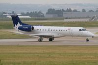 F-GYPE @ LFPO - Embraer EMB-135LR (ERJ-135LR), , Ready to take off rwy 08, Paris-Orly airport (LFPO-ORY) - by Yves-Q