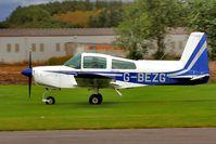 G-BEZG @ EGBR - Visitor - by glider