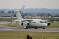 D-AMGL @ LFPO - British Aerospace BAe.146-200, Lining up prior take off rwy 08, Paris-Orly Airport (LFPO-ORY) - by Yves-Q