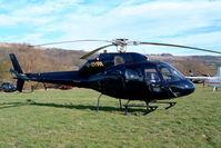 G-BYPA @ EGBC - Aerospatiale AS.355F2 Ecureuil II [5348] Cheltenham Racecourse~G 16/03/2004