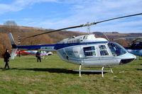 G-MCPI @ EGBC - Bell 206B-3 Jet Ranger III [3191] (Martin Pipe Racing) Cheltenham Racecourse~G 16/03/2004