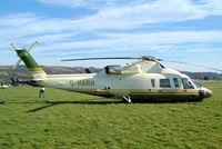 G-HARH @ EGBC - Sikorsky S-76B [760391] (Air Harrods) Cheltenham Racecourse~G 16/03/2004