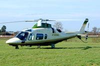 G-MOMO @ EGBC - Agusta A-109E Power Elite [11154] (Air Harrods) Cheltenham Racecourse~G 16/03/2004