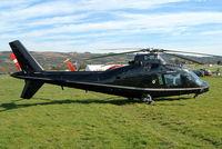 G-USTB @ EGBC - Agusta A-109A [7613] (Newton Aviation Ltd) Cheltenham Racecourse~G 16/03/2004