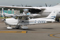G-OARS @ EBAW - Taxiing at Antwerp Airport. - by Raymond De Clercq